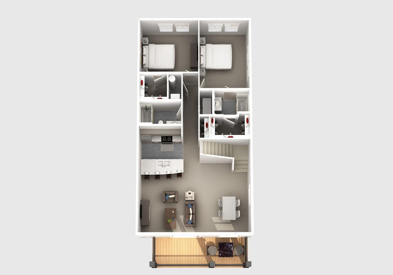 The Judd floor plan