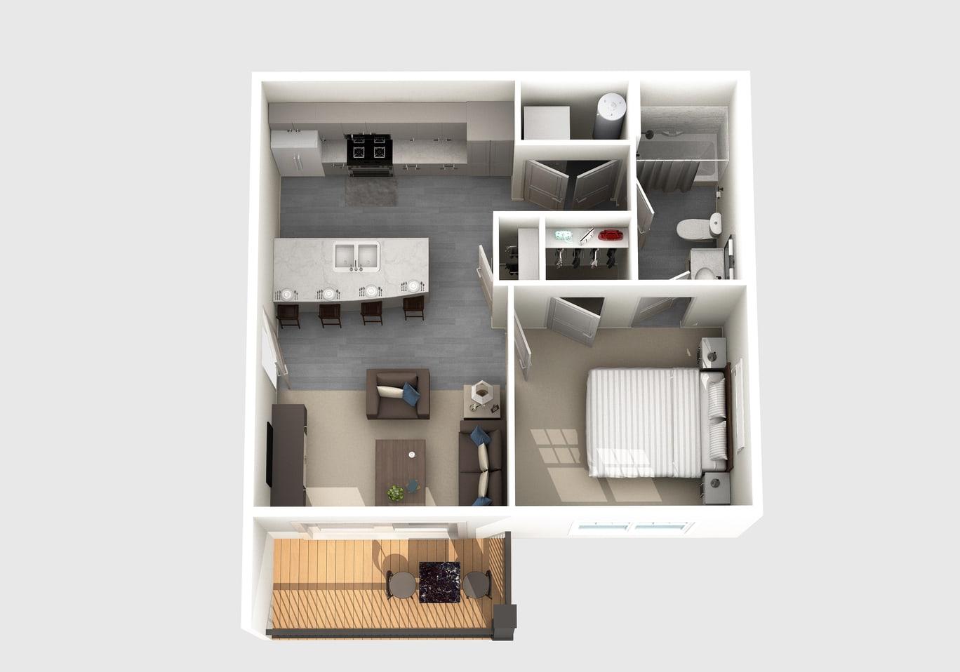 The Montgomery floor plan