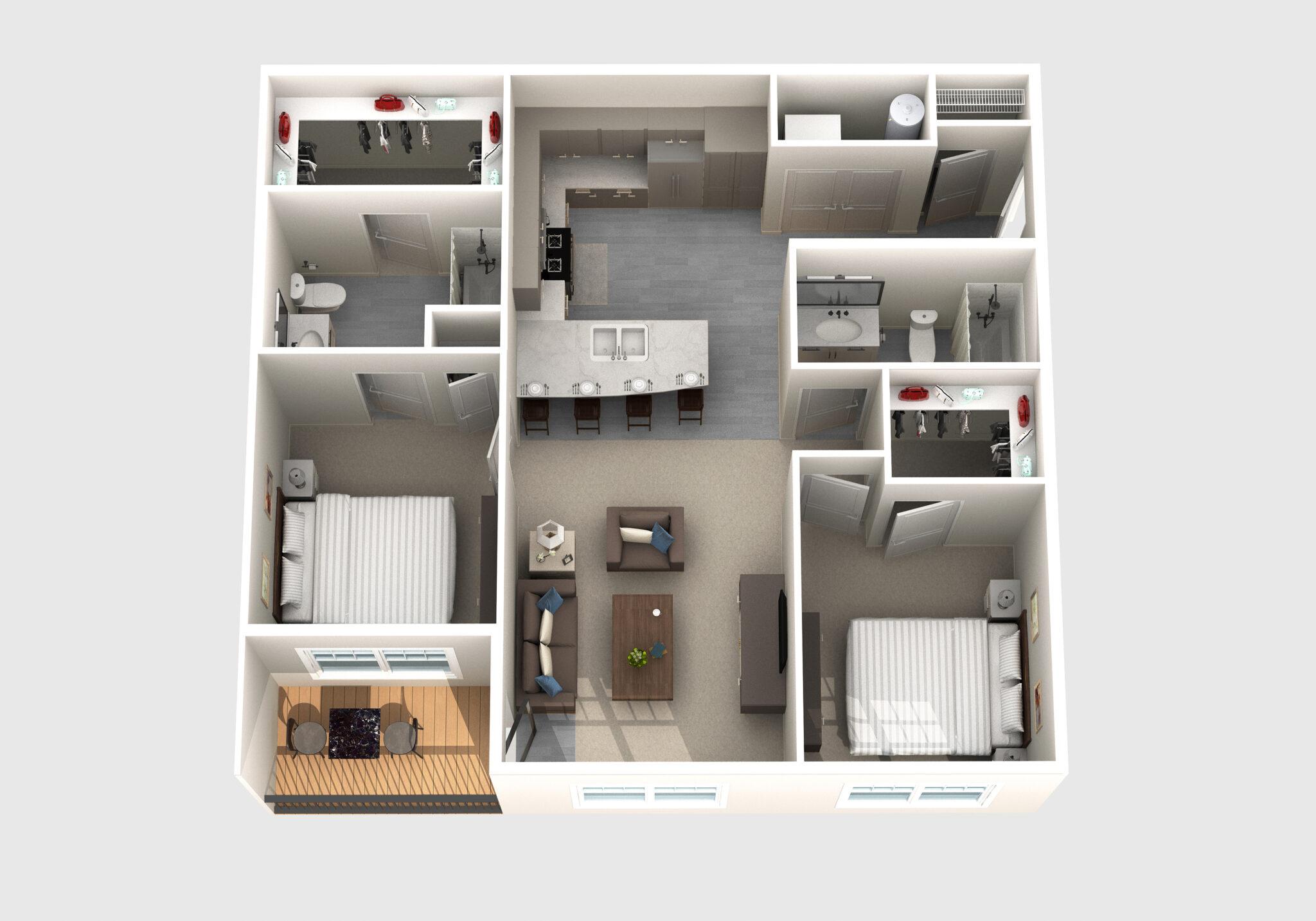 The Zook floor plan