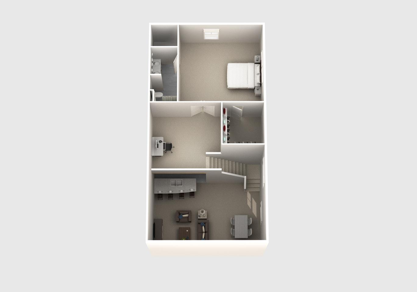 The Judd floor plan second floor